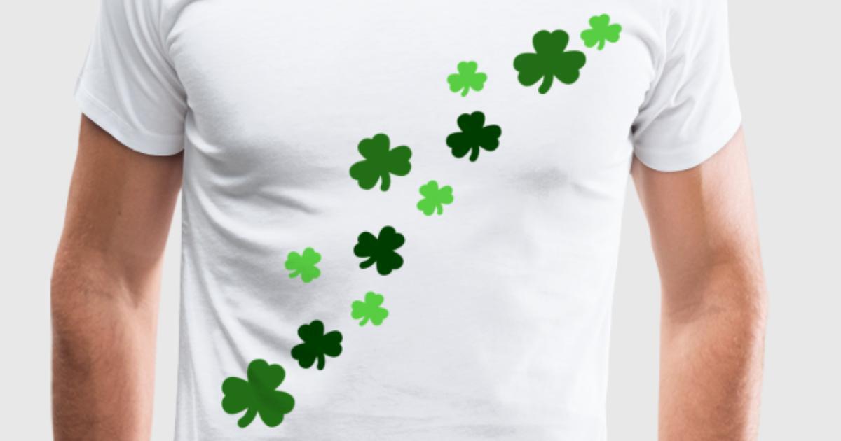 shamrock design by hugsheal spreadshirt