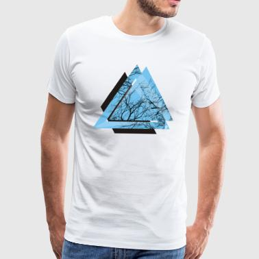 AD triangle black - Men's Premium T-Shirt