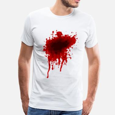 Stained Blood Stain - Men's Premium T-Shirt