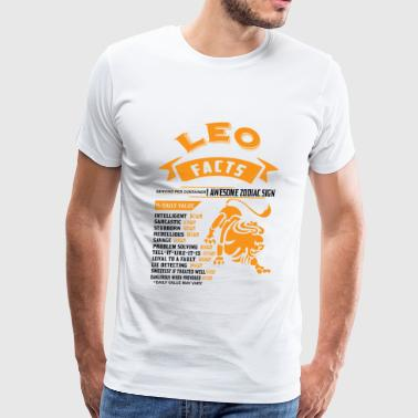 LEO FACTS - Men's Premium T-Shirt