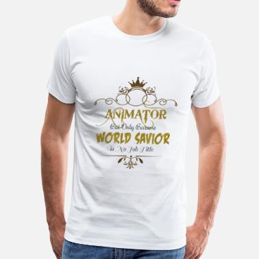 Animation Animator World Savior - Men's Premium T-Shirt