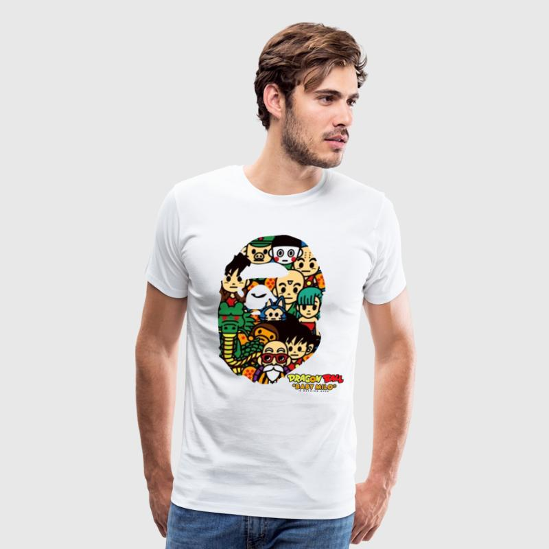 Dragon Ball x Bape - Men's Premium T-Shirt