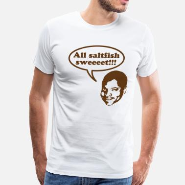 Punani All saltfish sweeeet! - Men's Premium T-Shirt