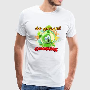 Gummibär Go Green Earth Day Trees - Men's Premium T-Shirt