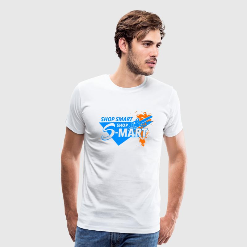 Shop Smart Shop S Mart - Men's Premium T-Shirt