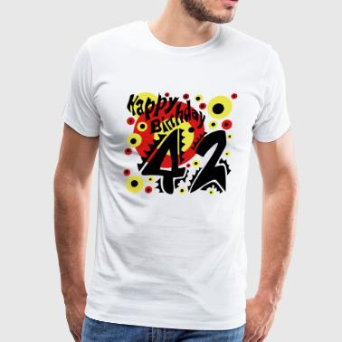 42 Years Birthday 42 Year Birthday T-Shirt - Men's Premium T-Shirt