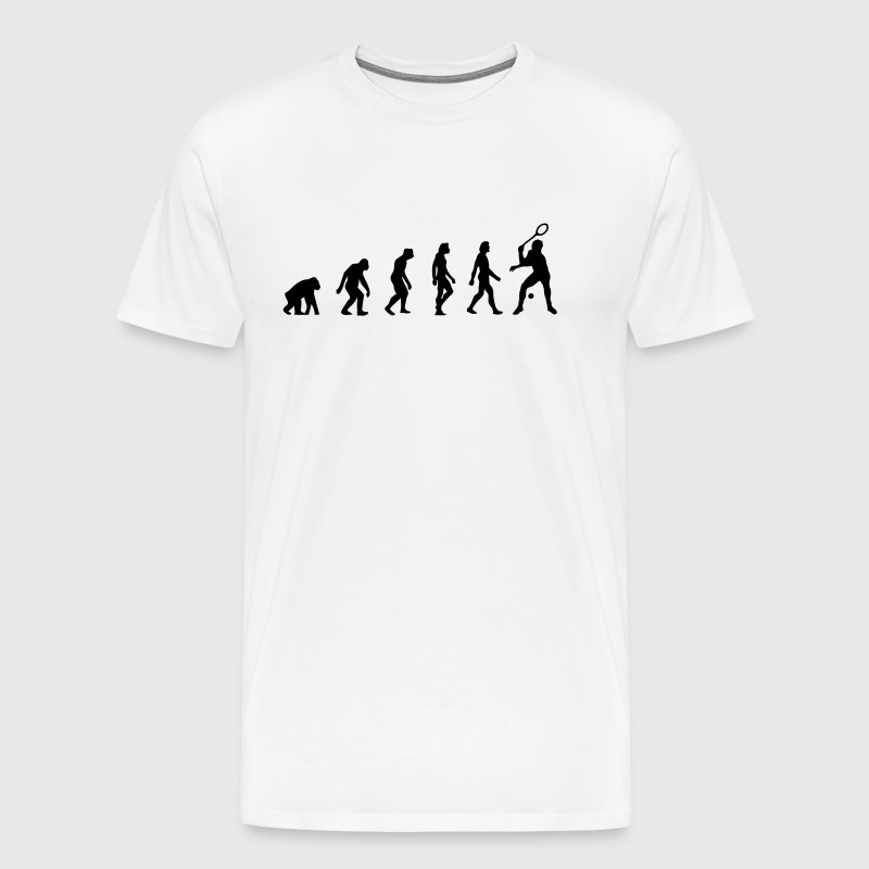 The Evolution of Squash - Men's Premium T-Shirt
