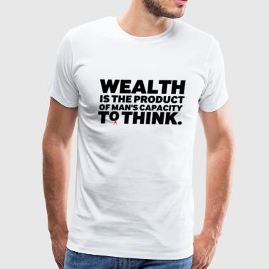 Wealth - Men's Premium T-Shirt