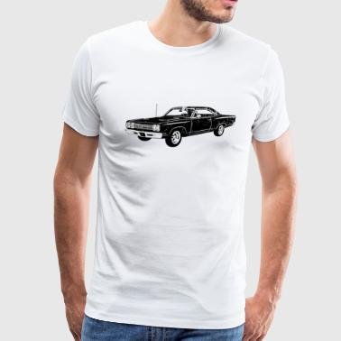 1969 Plymouth Roadrunner - Men's Premium T-Shirt