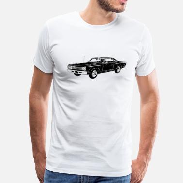 a6600519 1969 Plymouth Roadrunner 1969 Plymouth Roadrunner - Men's Premium T-Shirt