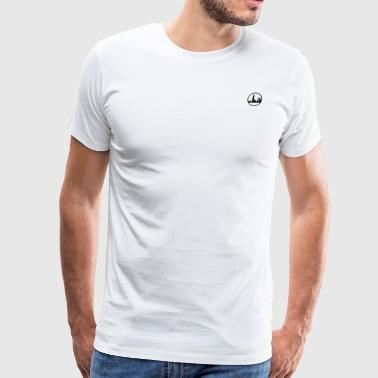 L'Horizon Apparel Logo Basic - Black - Skyline - Men's Premium T-Shirt