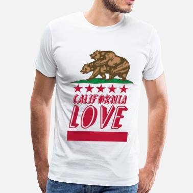 Fucking California california - Men's Premium T-Shirt