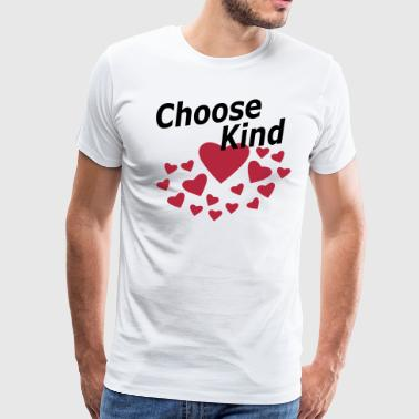 Choose Kind Anti Bullying - Men's Premium T-Shirt