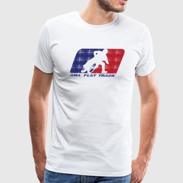 Ama Flat Track Racing - Men's Premium T-Shirt