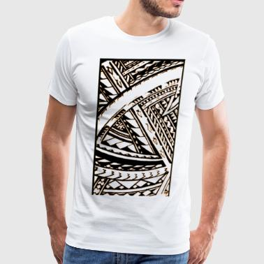 Fili Samoan Tribal art by Sku - Men's Premium T-Shirt