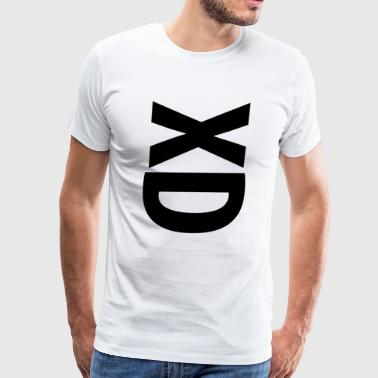 XD face - Men's Premium T-Shirt