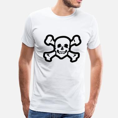 Head Pirate flag - Men's Premium T-Shirt