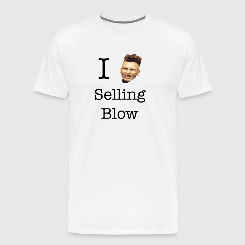 Stitches Brick In Yo' Face I Love Selling Blow - Men's Premium T-Shirt