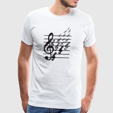 Musical Symbols - Men's Premium T-Shirt