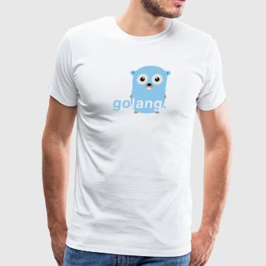 Golang gopher - Men's Premium T-Shirt