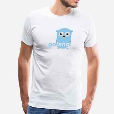 Golang Golang gopher - Men's Premium T-Shirt