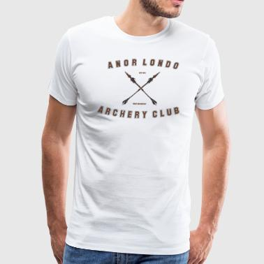 ANOR LONDO - ARCHERY CLUB - Men's Premium T-Shirt