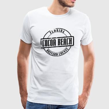 Cocoa Beach Title - Men's Premium T-Shirt