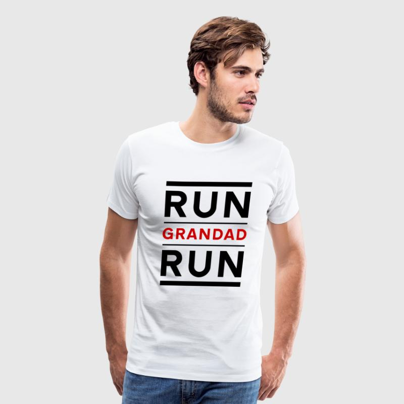 Run Grandad Run - Men's Premium T-Shirt