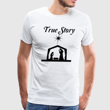 True Story - Nativity - Men's Premium T-Shirt