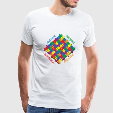Autism Support - Men's Premium T-Shirt