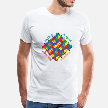 Autism Support Autism Support - Men's Premium T-Shirt