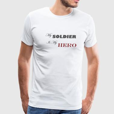 Soldier Hero - Men's Premium T-Shirt