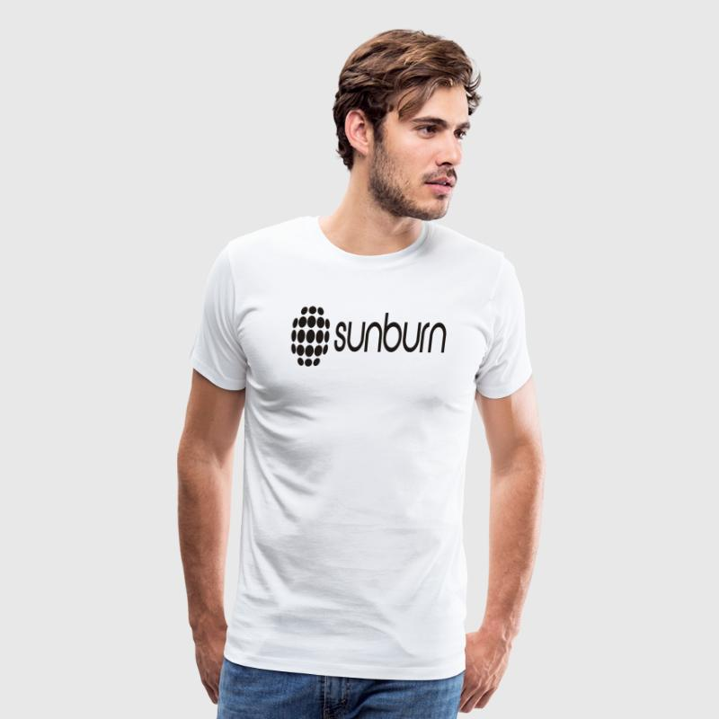 Sunburn Black - Men's Premium T-Shirt