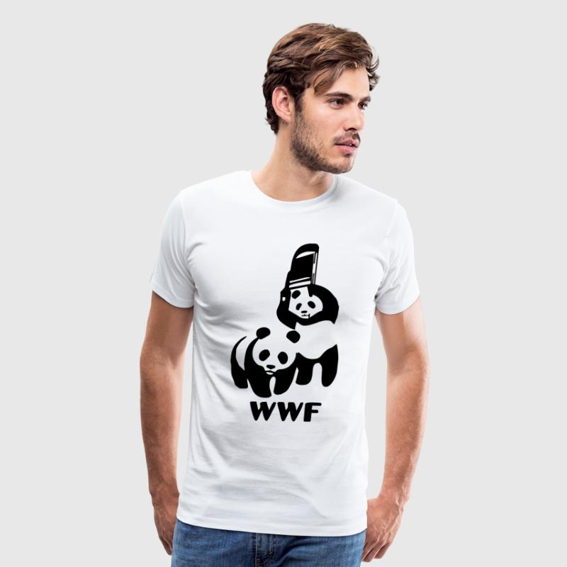 wwf - Men's Premium T-Shirt