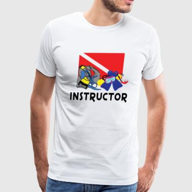 SCUBA Instructor - Men's Premium T-Shirt