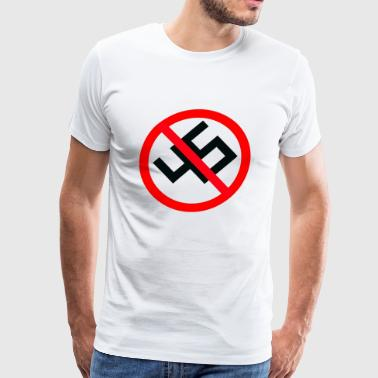 anti nazi - Men's Premium T-Shirt