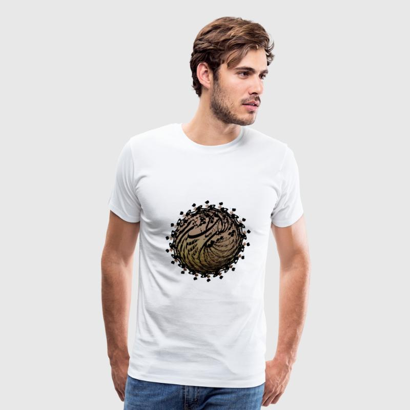 Persian typography - Men's Premium T-Shirt
