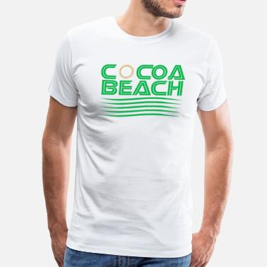 Cocoa Cocoa Beach Sunshine T-Shirt - Men's Premium T-Shirt