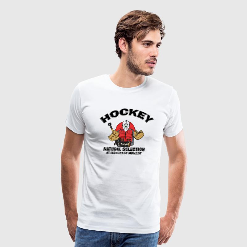 Funny Hockey Goalie - Men's Premium T-Shirt