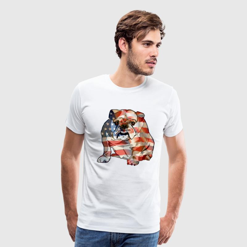 American Bulldog - Men's Premium T-Shirt