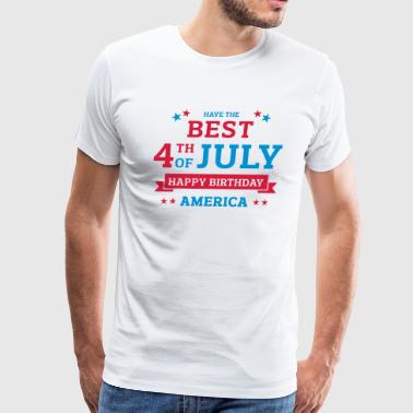 Independence Day 04 - Men's Premium T-Shirt
