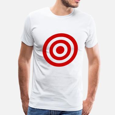 1fc28e09 Target Bullseye Bull's_Eye - Men's Premium T-Shirt