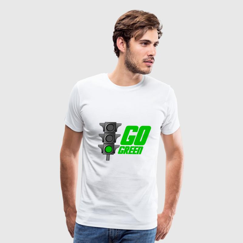 Go Green Light - Men's Premium T-Shirt