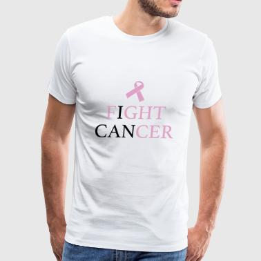 Fight Cancer Sucks Fight Cancer - Men's Premium T-Shirt