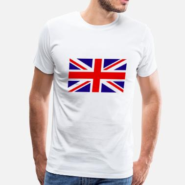 British Flag United Kingdom Flag - Men's Premium T-Shirt