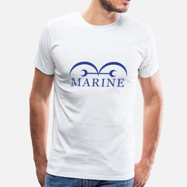 Marine One Piece Marines - Men's Premium T-Shirt