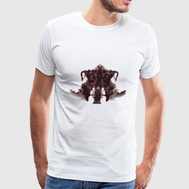 Translucent Biotek Brain - Men's Premium T-Shirt