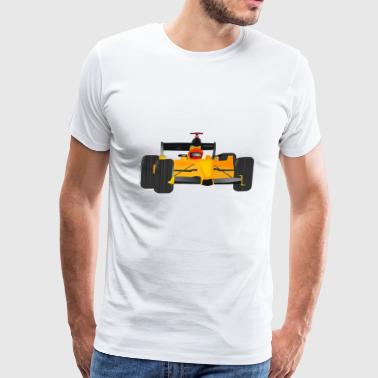 dragster racer automotive car automobil rennwagen3 - Men's Premium T-Shirt