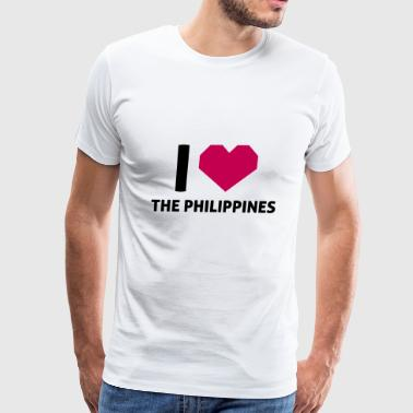 I Love The Philippines - Men's Premium T-Shirt