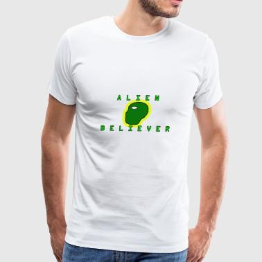 ALIEN BELIEVER - Men's Premium T-Shirt